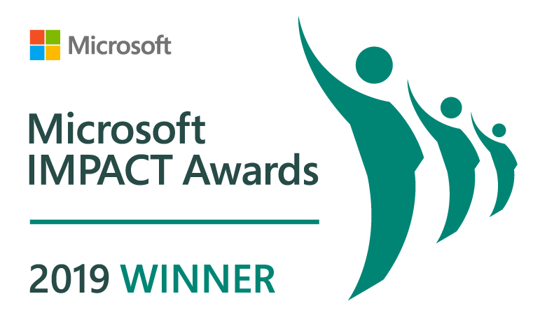Microsoft IMPACT Awards 2019 Winner